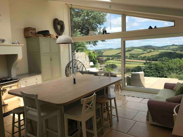 Remote Thatch Cottage on Dartmoor with Hot Tub