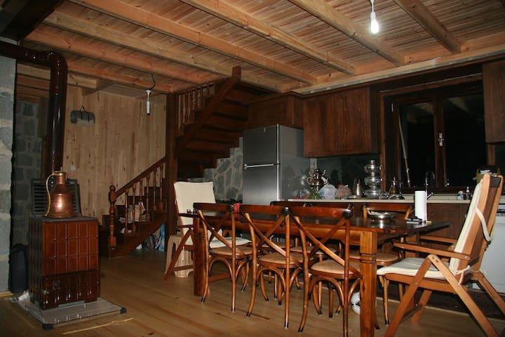 YaylaLife Dağ Evi - Gürgenağaç Köyü - Hytte (i sveitsisk stil)