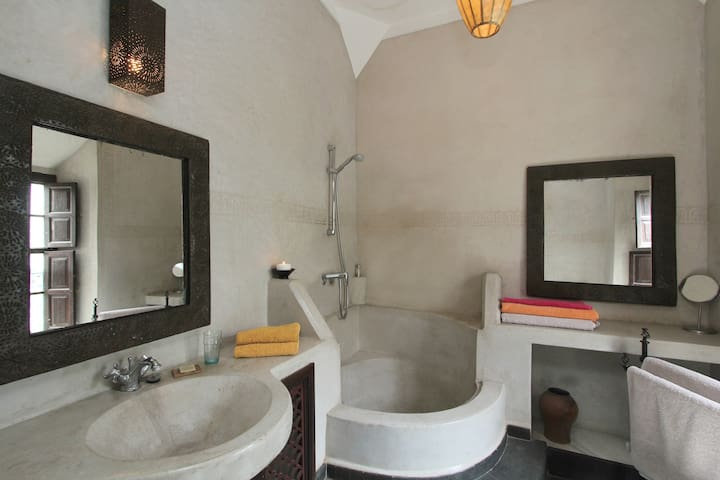 Dogon bathroom