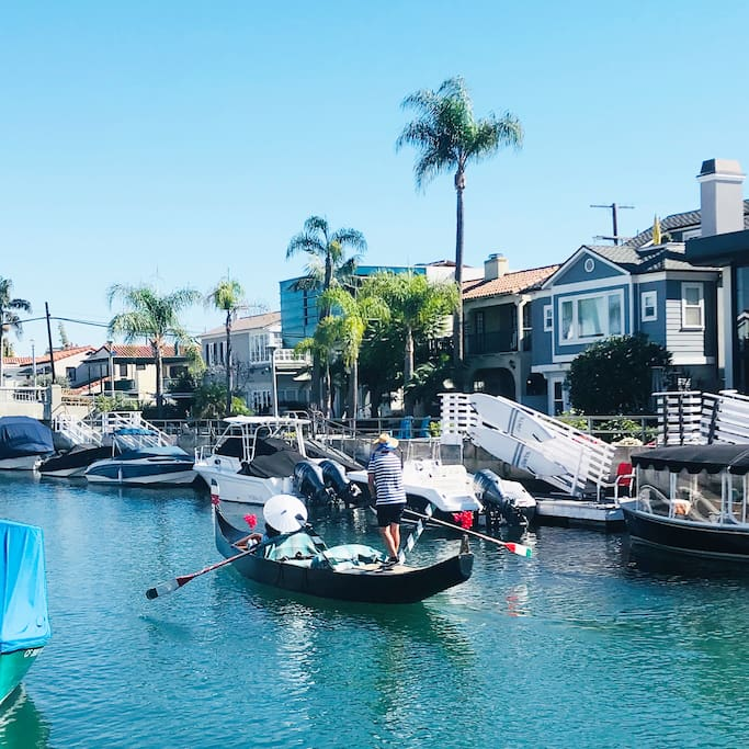 Feels Like Italy Walking the Breath Taking Canals Of Naples Long Beach