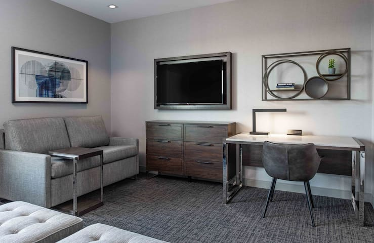 Only 7 Miles from Downtown | 24 Hour Business Center + Free Breakfast