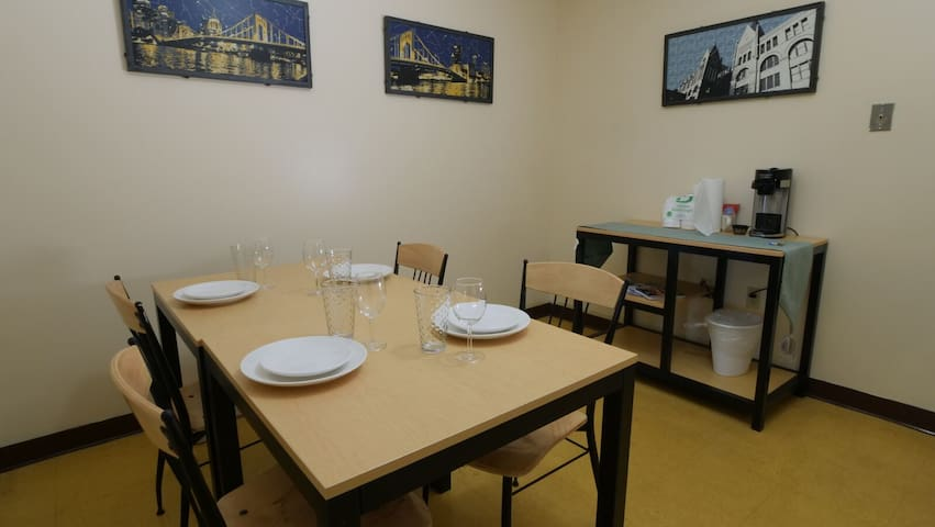 Walk to PPG Paints Arena | Private Room - Downtown