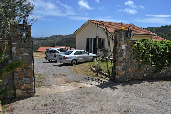 The property has its own private parking and closed from the inside