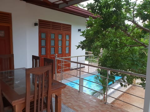 Villa@12Induruwa - Room 01 - Deluxe