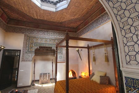 The Cozy Palace - Marakeş - Oda + Kahvaltı
