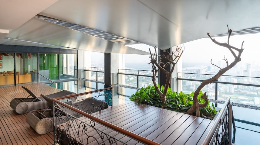 Luxury Sky-suite Penthouse Bangkok - Private Pool