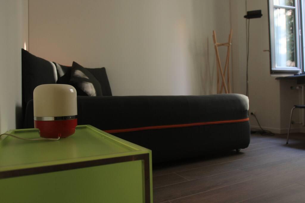 dettaglio divano/letto