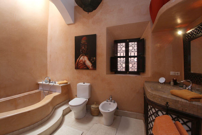 Bamileke bathroom