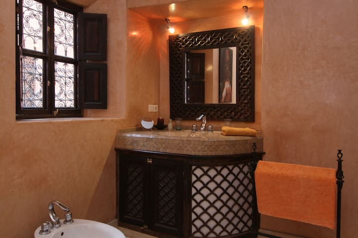 Bamileke bathroom