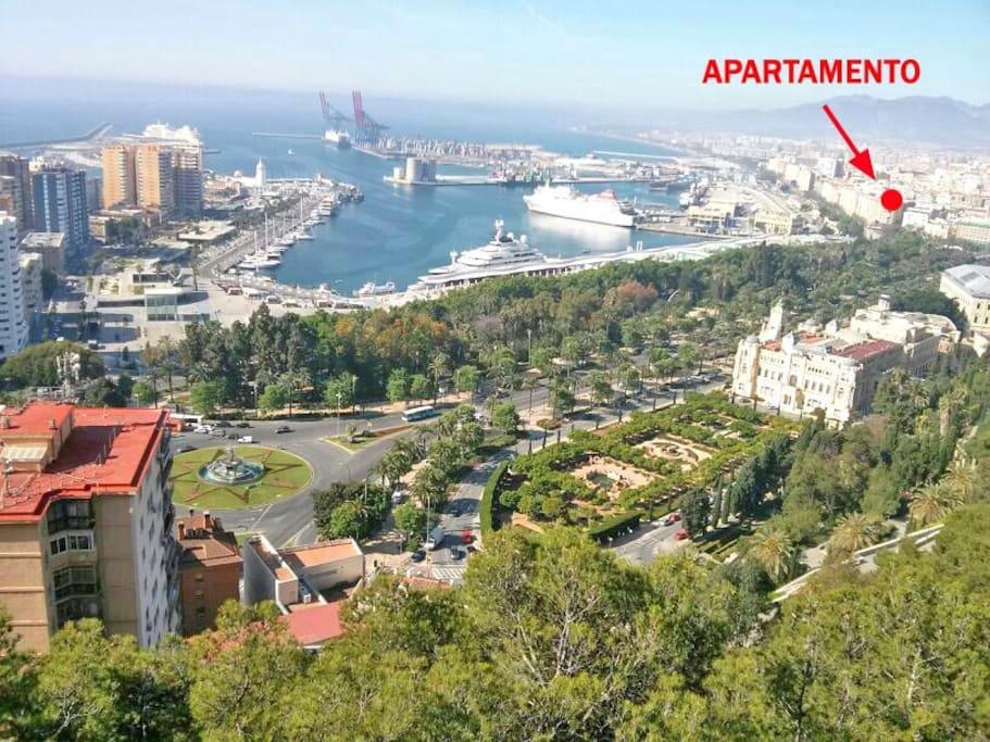 Apartamento centro historico soho appartements louer malaga andalousie espagne - Apartamento vacacional malaga ...