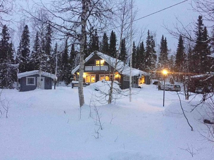 Beautiful cabin. Comfortable in the wilderness