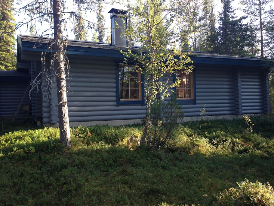 Backside of the cabin