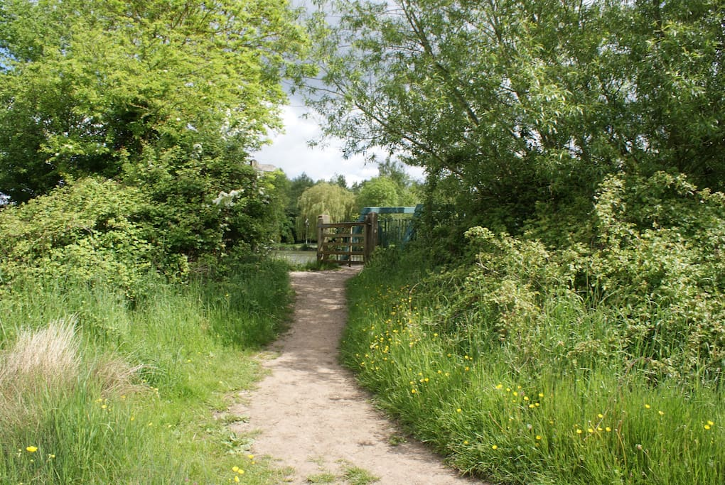 Tow-path to Oxford city centre