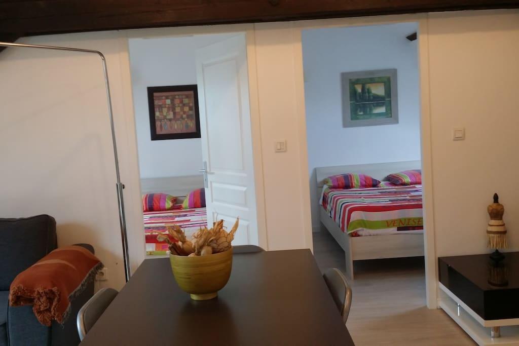 T3 appart hotel vacances ou affaire appartements louer for Louer appart hotel