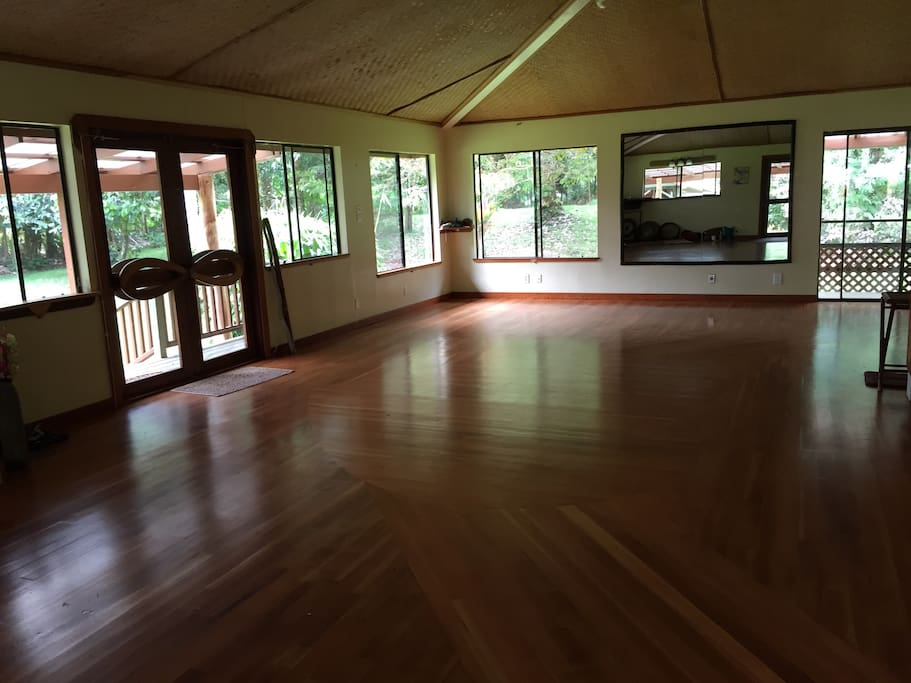 Sanctuary to do your personal practice  ie; yoga, meditation, exercise