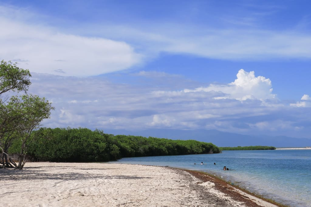 La playa de La Caobita