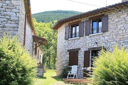Rustico in borgo Ristrutturato - Acqualagna -  Abbadia di Naro - Chalet