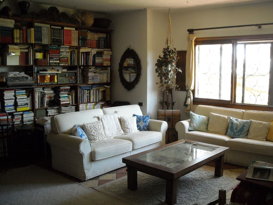 i divani nel soggiorno