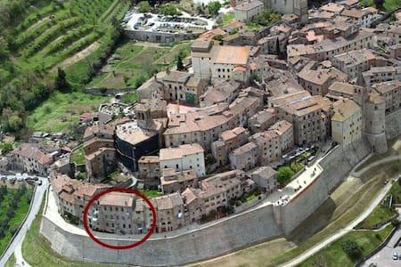 Appart. storico sulle mura di Anghiari - Anghiari - Apartment