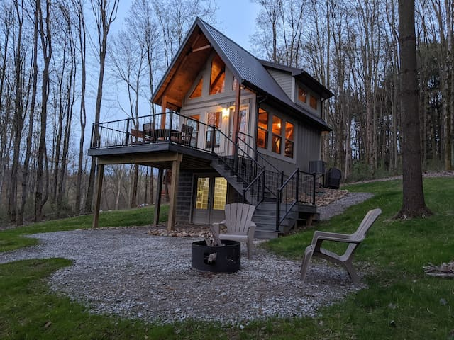 New Cabin/Mohican/Private - Save on weekly rental!