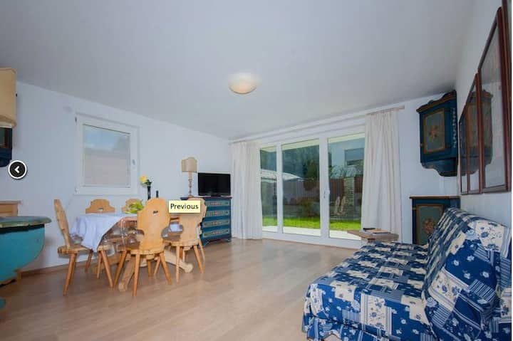 Fantastic bright flat in Bruneck city centre