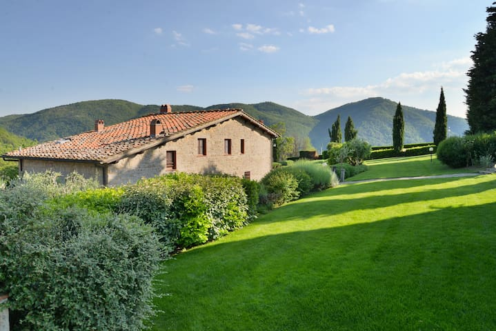 Farmhouse on the hills of Chianti