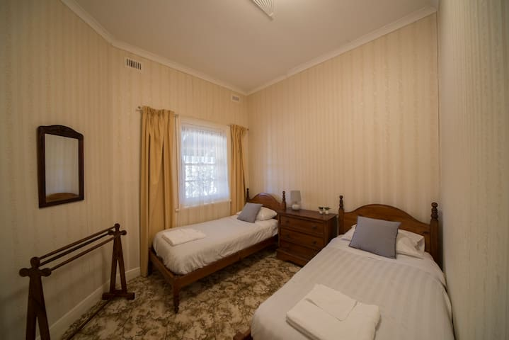 Bedroom # 3 with Single beds
