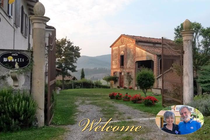 Colline di Parma, casa indipendente, oasi di pace