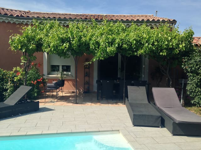 Maison avec Piscine aux Portes de la provence - Montélimar - Hus