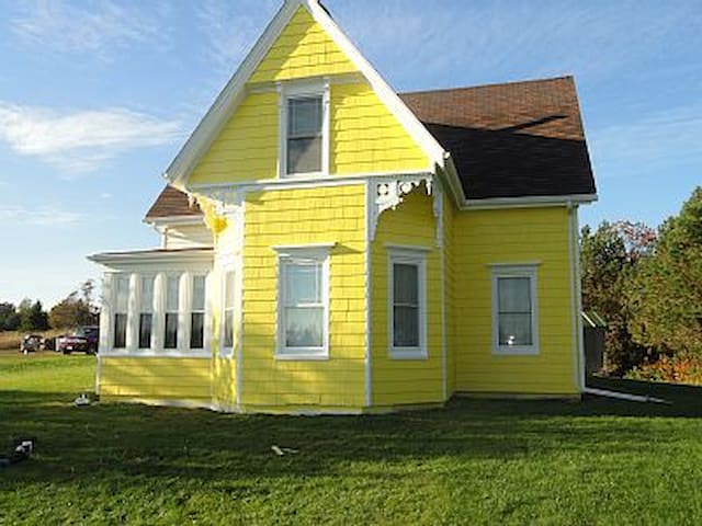 1884 Remodeled Victorian Farm House
