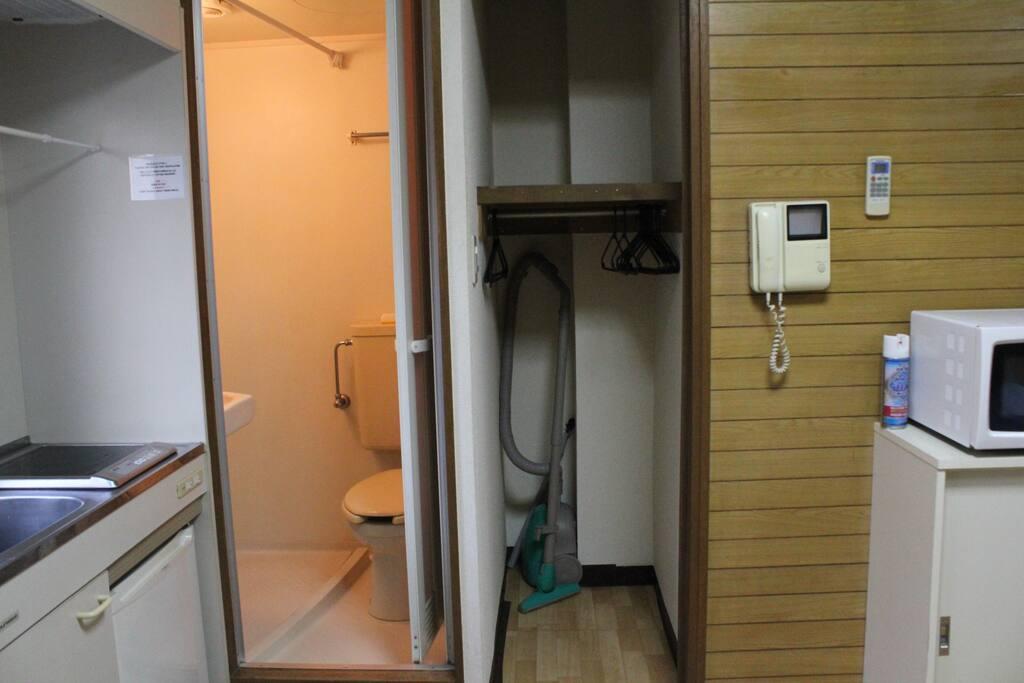 Toilet and Closet