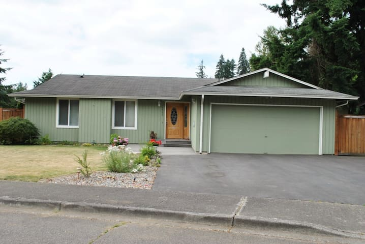 Peaceful, private home close to Seattle, & nature - Covington