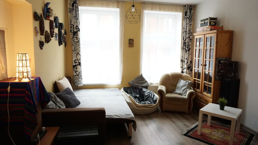 Room in the center of Gdańsk, 3 min from the train