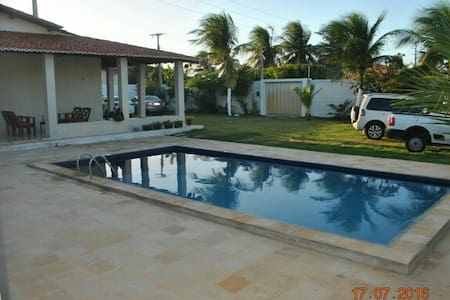 Wonderfull and clean beach house in Morro Branco. - Beberibe