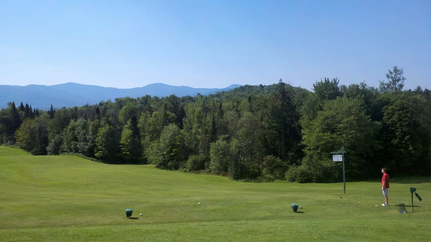 Great golf courses in the area.