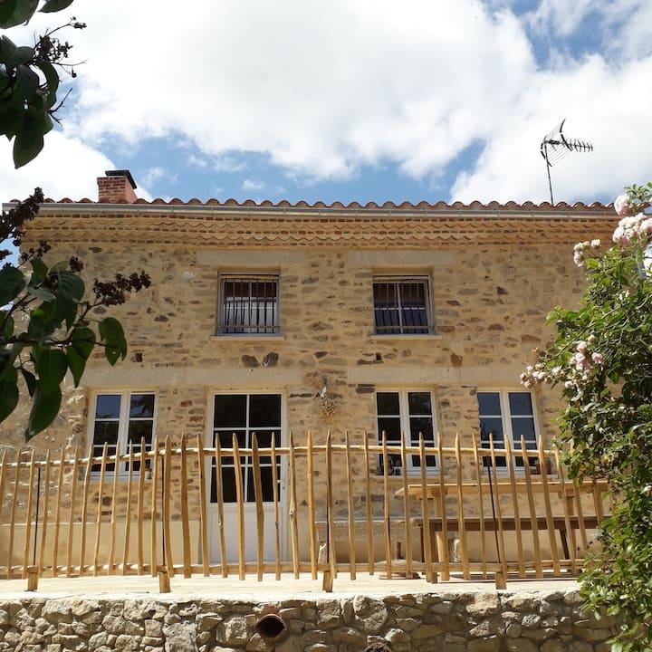 Maison ancienne rénovée écologiquement