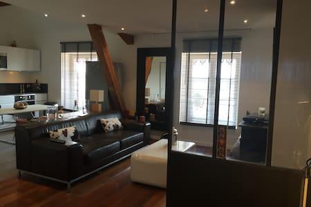Good legs and so peaceful in city jungle! - Lyon - Lägenhet