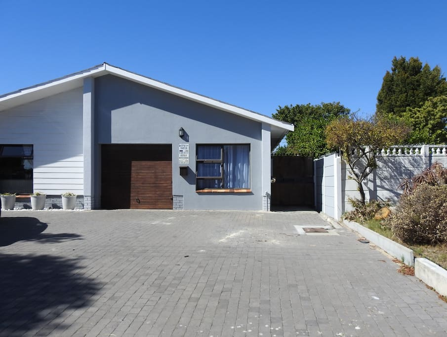 Your room is to the right of the garage with off-road parking and private entrance