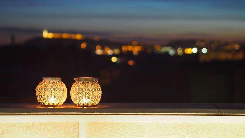Entorima Panoramic Budapest (Penthouse, 2 garage) - Budapest - Apartemen