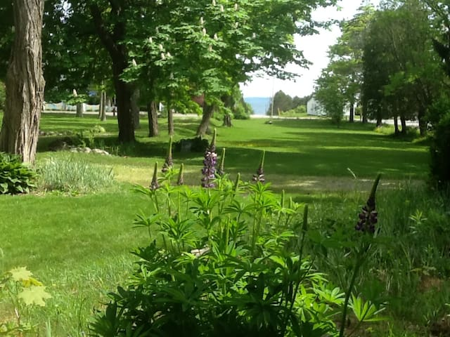 View of Penobscot Bay from front porch.