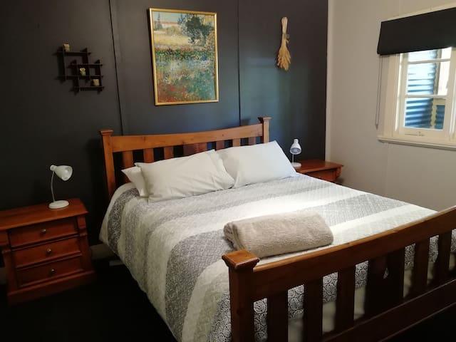 Bedroom 1. Generous Queen Bed