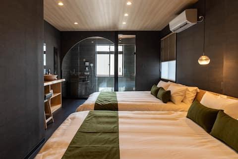 10mins to Namba stn./Bijou Suites Noble