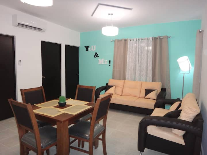 Tropical Paradise Apartment Puerto Morelos