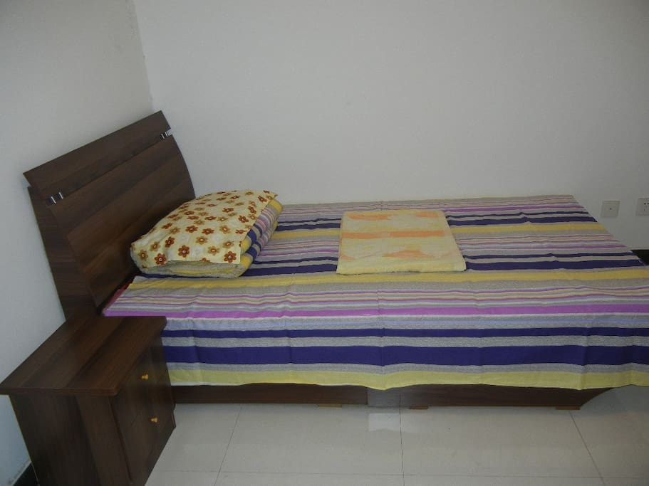 单人床间卧室Single bedroom