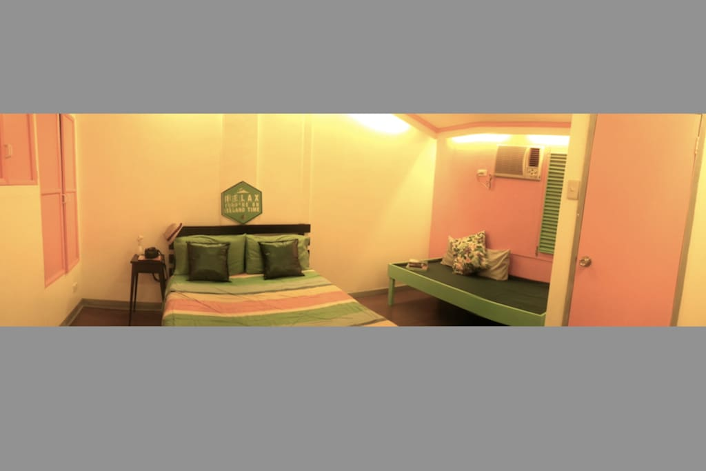 CORAL room with closet and en suite toilet