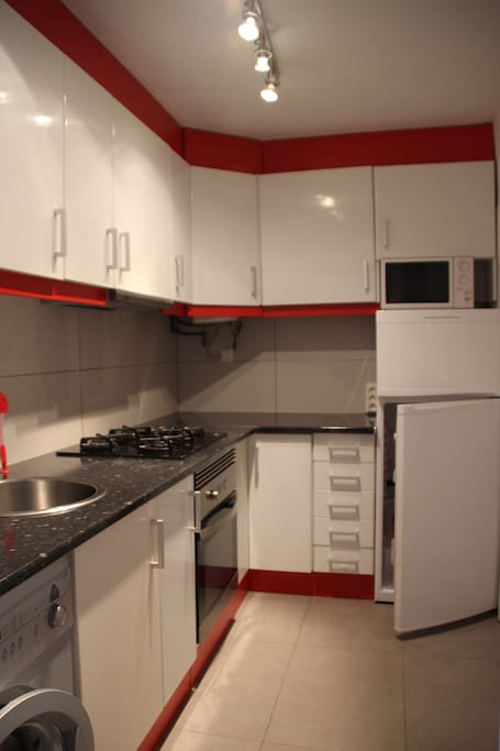 Diese Küche ist komplett