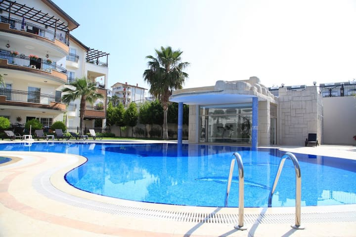 Luxury apartment, Side,south Turkey - Side - Huoneisto