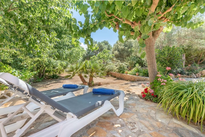 Charming Country House with Garden, Terrace & Wi-Fi; Parking Available