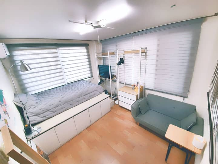 Open × Sunny Cozy House[3min by walk Stn/Bus]