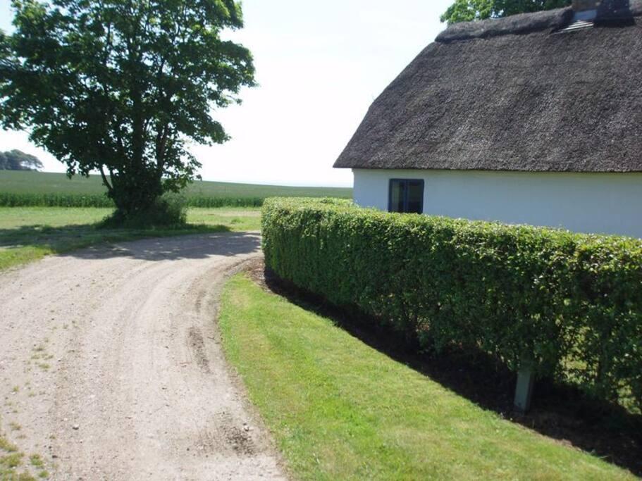 hus fra vejen